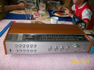 268. Philips, receiver. Typ: High Fidelety International 22RH 790/63. Nr: FK 148160. Fotonr: 100_2266