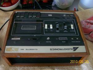 392. Audiotronics, cassettedäck. Typ: Classette 160 ES 160. Nr: 10706. Fotonr: 100_5765
