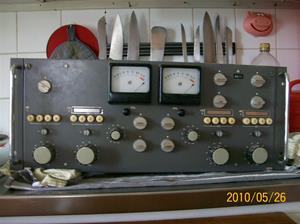 398. Sveriges Radio, radio/TV-sändare. Typ: Huvudenhet. Serienr: 681306. Ritn.nr: 30826. Fotonr: 100_5781