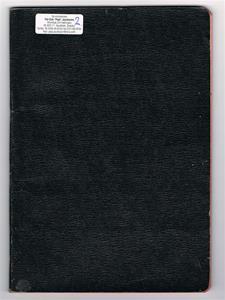 Näs Maskinförening protokollsbok 1951 - 1957.