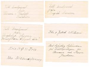Lyckönskningar till bröllopet 1941 09 13 del 2