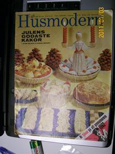 481. Husmodern, veckotidning. Nr: 48 den 28 november 1961. Pris: 75 öre. Fotonr: 100_7563