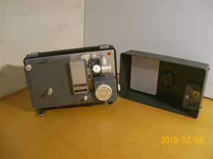 900. Canon P-8, filmprojektor. Typ: Cinestar S-8. Nr: ? Fotonr: 101_0696