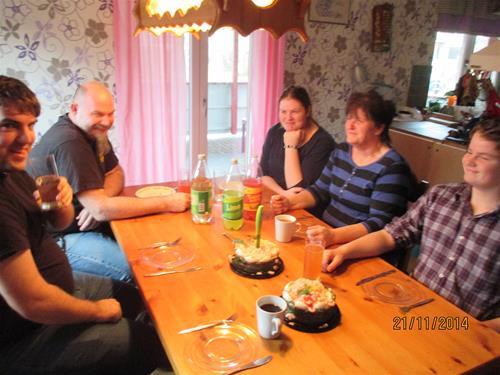 Den mycket trevliga stunden hos Susanne och Jonny. IMG_0637