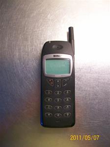 546. Bosch, mobiltelefon. Typ: GSM COM 608. Nr: 4 75098E+13. Fotonr: 100_8186