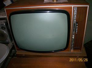 562. Philips, färgTV. Typ: FärgTV S25K 481/50. Nr: 7288. Tillv.år: 1967. Fotonr: 100_8320