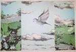 Olle Berlin: Fågel och landskap