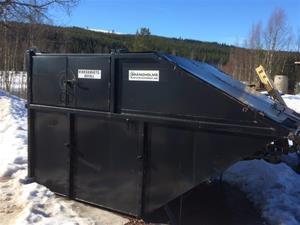 Container, täckt 8 kbm