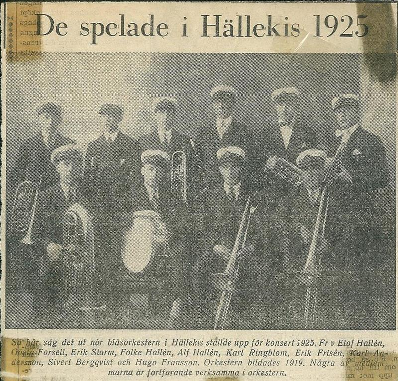 Hällekis Musikkår 5 år