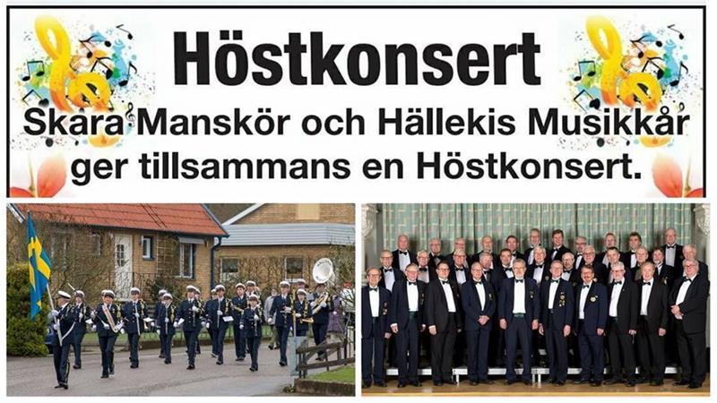 21 oktober Höstkonsert