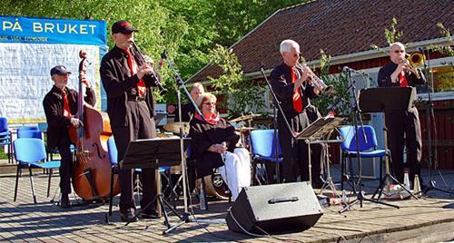 Musik på Bruket 2006 Peoria Jazzband