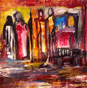 Live painting 23 nov