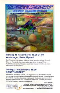 Vernissage & Konstkonsert