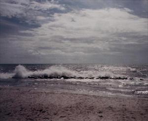 Skimrande Österlenhav