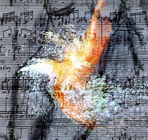 Musical fire, water, wind