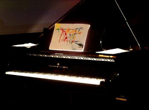 Pianokonsert & Live painting 23 nov