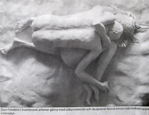 Stenungsundsposten skulptur