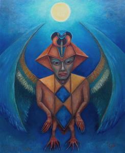 ancient egyptian human bird