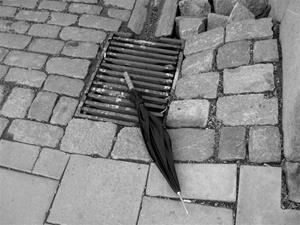 Kvarglömt paraply