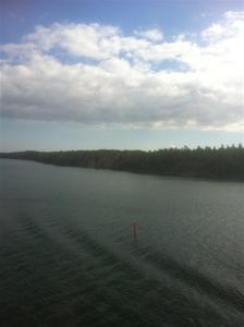 5. På väg mot Åland...