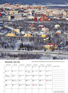 Kirunakalendern mars 2018