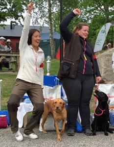 Dubbelt upp för Pilenkenneln på unghundsderbyt 2016.