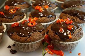 Choklad & Chilimuffins.