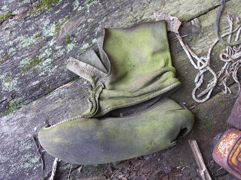 En sko kan berätta mycket