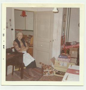 Min farmor. julafton 1965. Fick bilden av min kusin Carina 2015 03 30