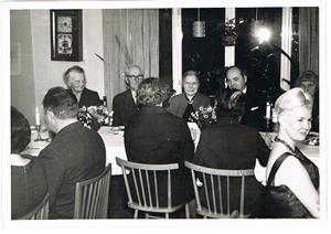 22.Kalas på Björklunda, förmodligen i mitten på 1960-talet.
