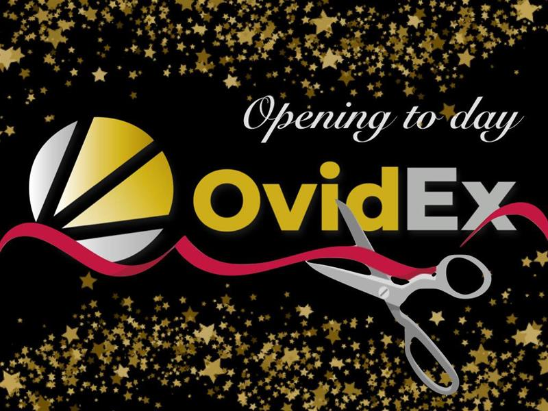 OvidEX launch March 25, 2020