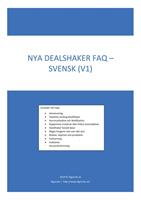 Nya DealShaker FAQ (NDS-FAQ-S2)
