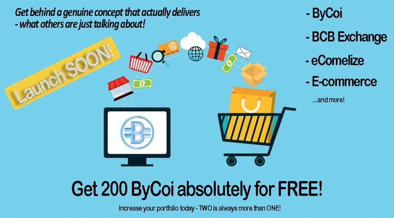 Get 200 ByCoi fro FREE!