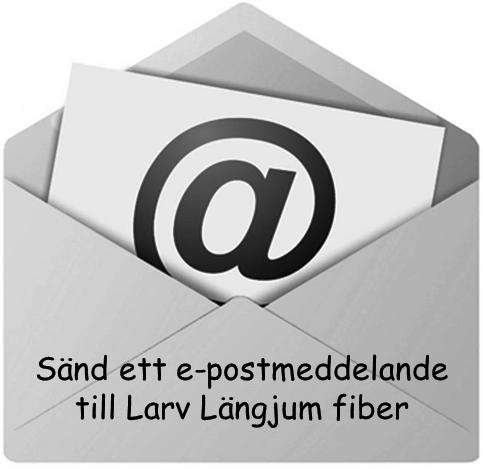 Sänd ett e-postmeddelande till Larv Längjum fiber