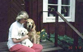 Orkides Nikolina med mormors mor Tobygårdens Katarina