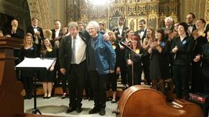 Konsert Chorea Academica med Georg Riedel