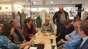 Tillsammans med Johan Söderberg, Katrineholms politiker