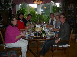Den sista kvällen med våra vänner