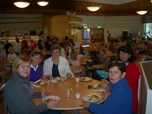 I matsalen på Nyhem
