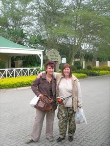 Camilla och Annamarie