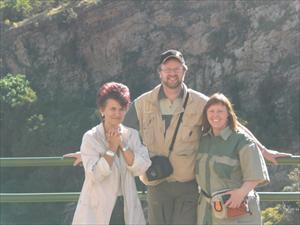 Björn, Camilla och Annamarie De Waal