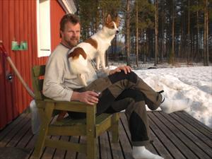Björn o Tintin april 09