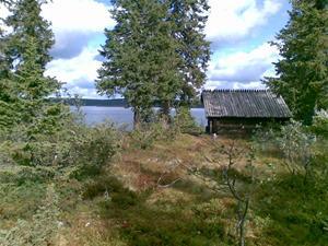 Rastplats vid Stenträsket
