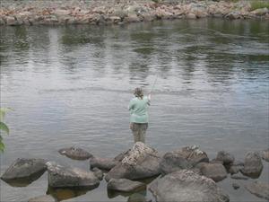 camilla svingar fiskespöt