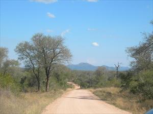Vy över söda delan av Kruger