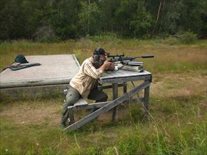 Björn skjuter in 6,5:an i Alvik