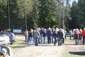 Skogsdag av södra o LRF förevisar ladugården 037
