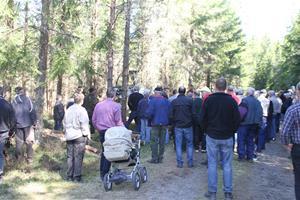 Skogsdag av södra o LRF förevisar ladugården 043