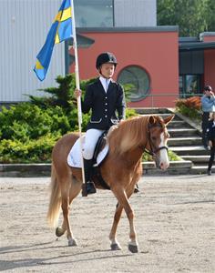 Anna och Candle förridare i Nordiska Mästerskapen