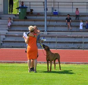 Åsas andra hund Rudo vinner hanhundscertet!